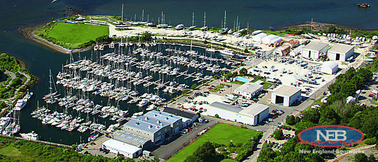 new england boatworks, boat builder, service yard and marina