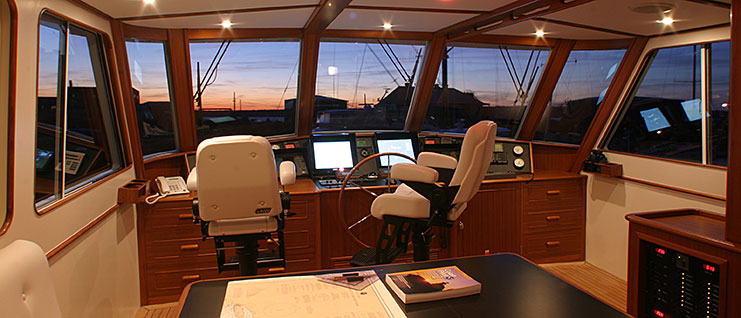 New England Boatworks   Joinery Craftsmen For Custom Yacht Interiors, Teak  Decks And Exterior Details
