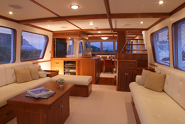 custom interior design new england boatworks joinery craftsmen for custom yacht