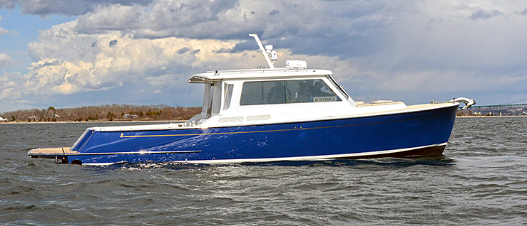 Zurn 38 Composite Dive Boat built by NEB