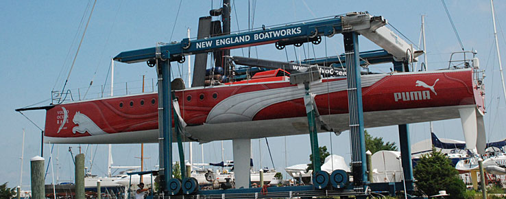 c83d69b0ac47 NEB and PUMA Ocean Racing build Volvo 70. Powered by BERG Propulsion